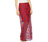 G.I.L.I. Regular Lace Maxi Skirt - A290295