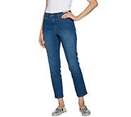 Studio by Denim & Co. Regular Classic Denim Ankle Jeans - A291895