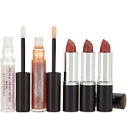 Laura Geller Italian Marble Lipstick & Lip Gloss 5 pc Collection - A301895