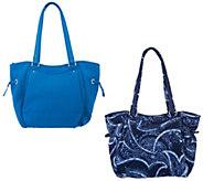 Vera Bradley Iconic Glenna Satchel Handbag - A304395