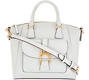 Dooney & Bourke Emerson Leather Satchel Handbag- Naomi - A304995