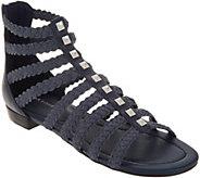 Marc Fisher Braid Detailed Gladiator Sandals - Pepita - A305395