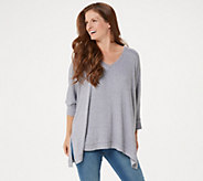 Laurie Felt Relaxed V-Neck Sweater - A305695