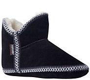 MUK LUKS Womens Suede Amira Slipper Boots - A334595