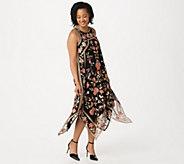 Tolani Collection Sleeveless Embroidered Mesh Midi Dress - A351695