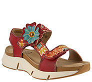 LArtiste by Spring Step Leather Sandals - Vergie - A363695