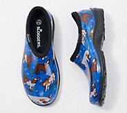Sloggers Barnyard Goats Waterproof Garden Shoe w/ Comfort Insoles - A374395