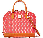 Dooney & Bourke MLB Red Sox Zip Zip Satchel - A280096