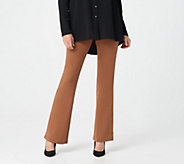 Women with Control Regular Tummy Control Low Bell Knit Pants - A284296