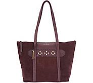 Vera Bradley Leather & Suede Mallory Tote Handbag - A296496