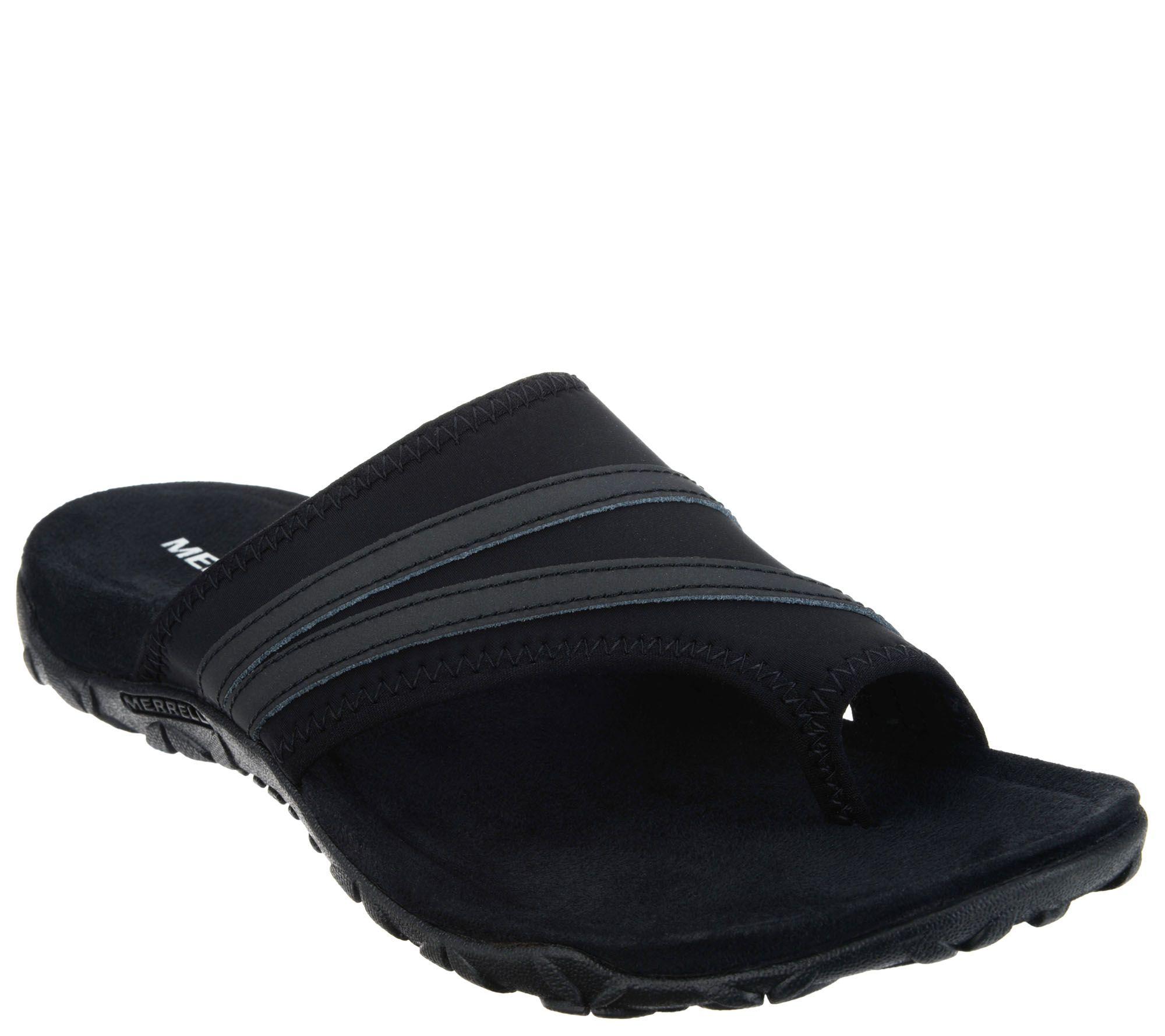 38b27cc6b522 Merrell Leather   Textile Sandals - Terran Ari Wrap - Page 1 — QVC.com