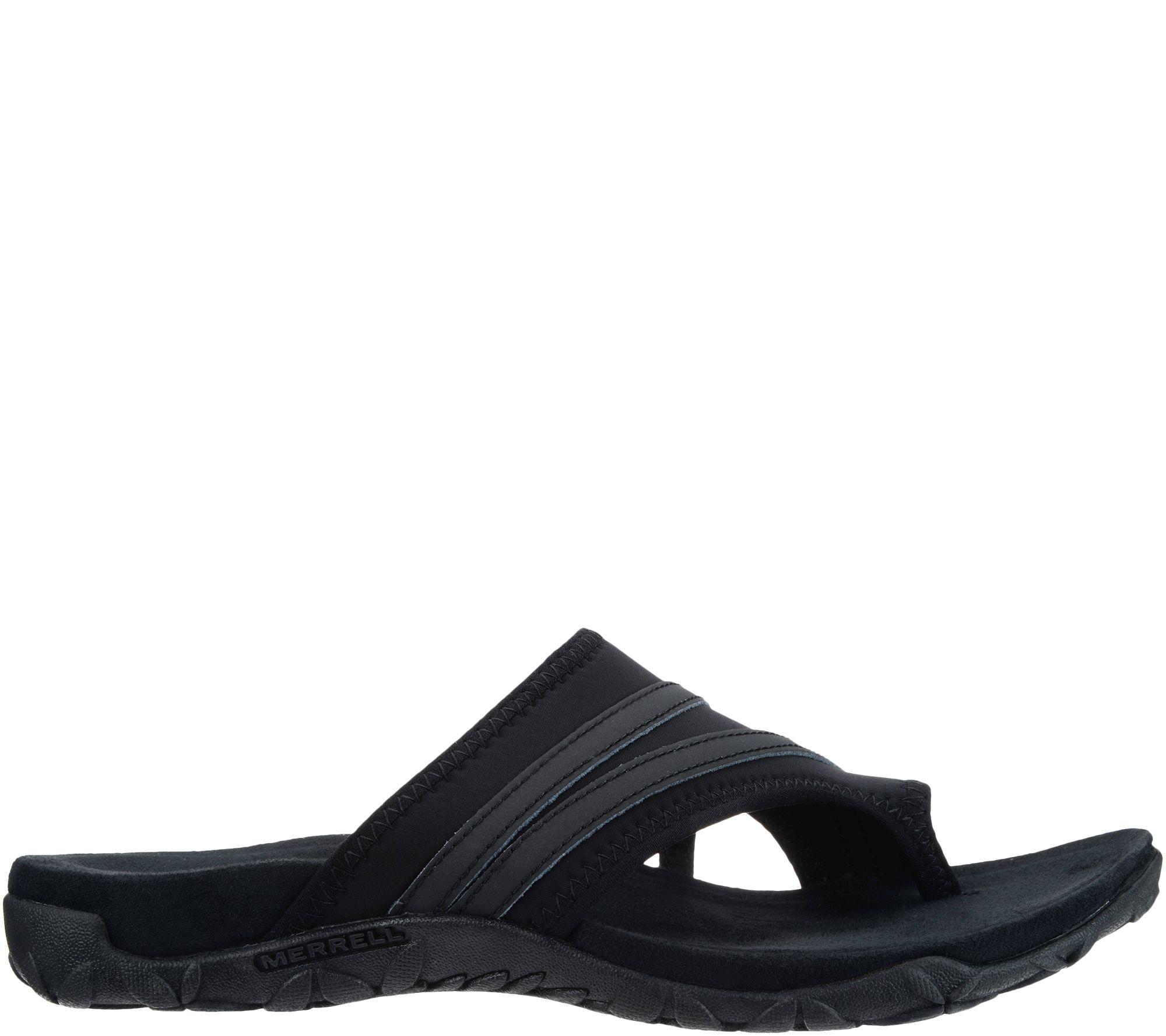 c988454f79b4 Merrell Leather   Textile Sandals - Terran Ari Wrap - Page 1 — QVC.com