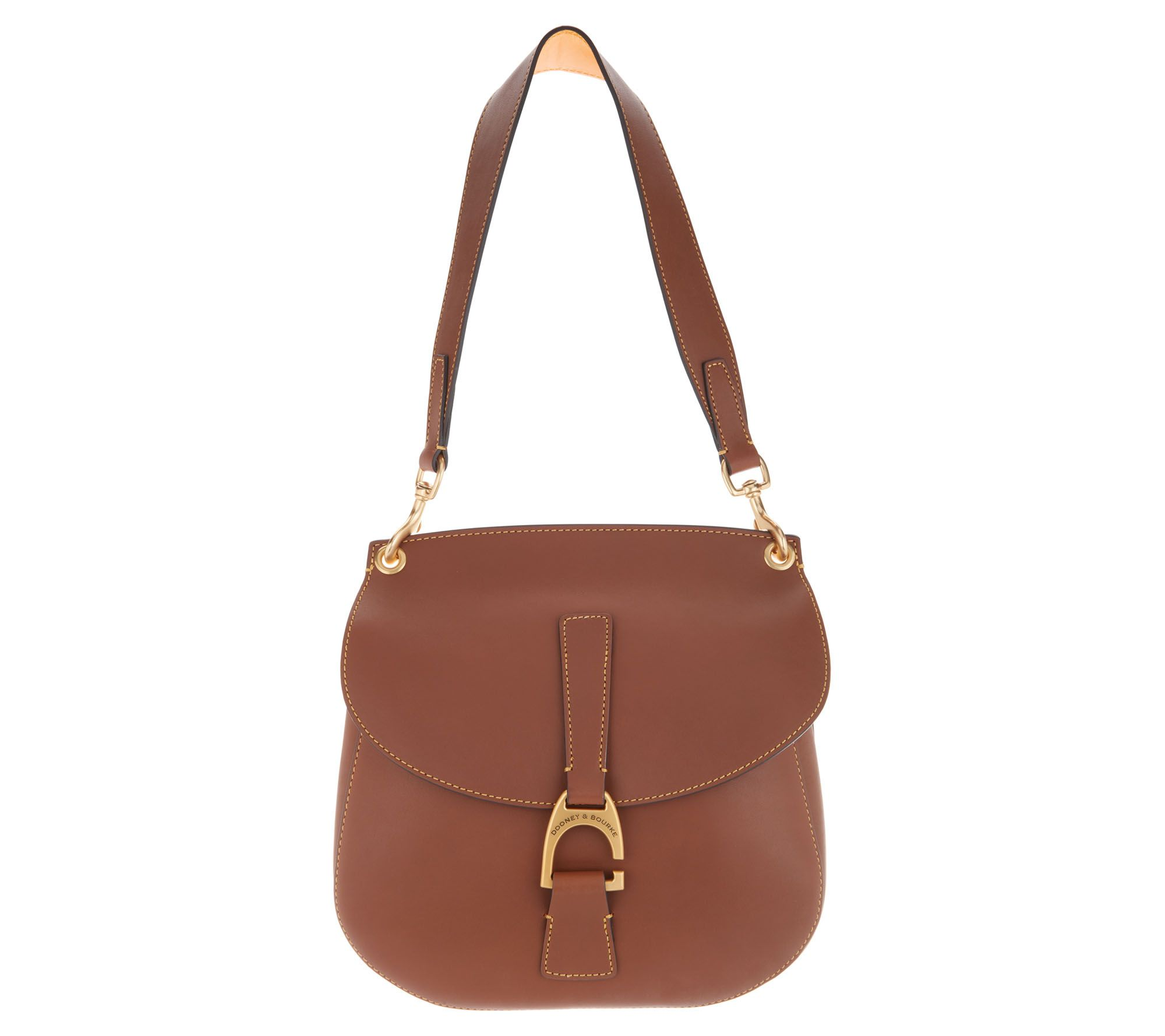 Dooney   Bourke Emerson Leather North South Shoulder Handbag- Reese - Page  1 — QVC.com 7eee3d93713ac