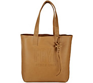Frye Leather Perforated Logo Unlined Tote - Carson - A308896