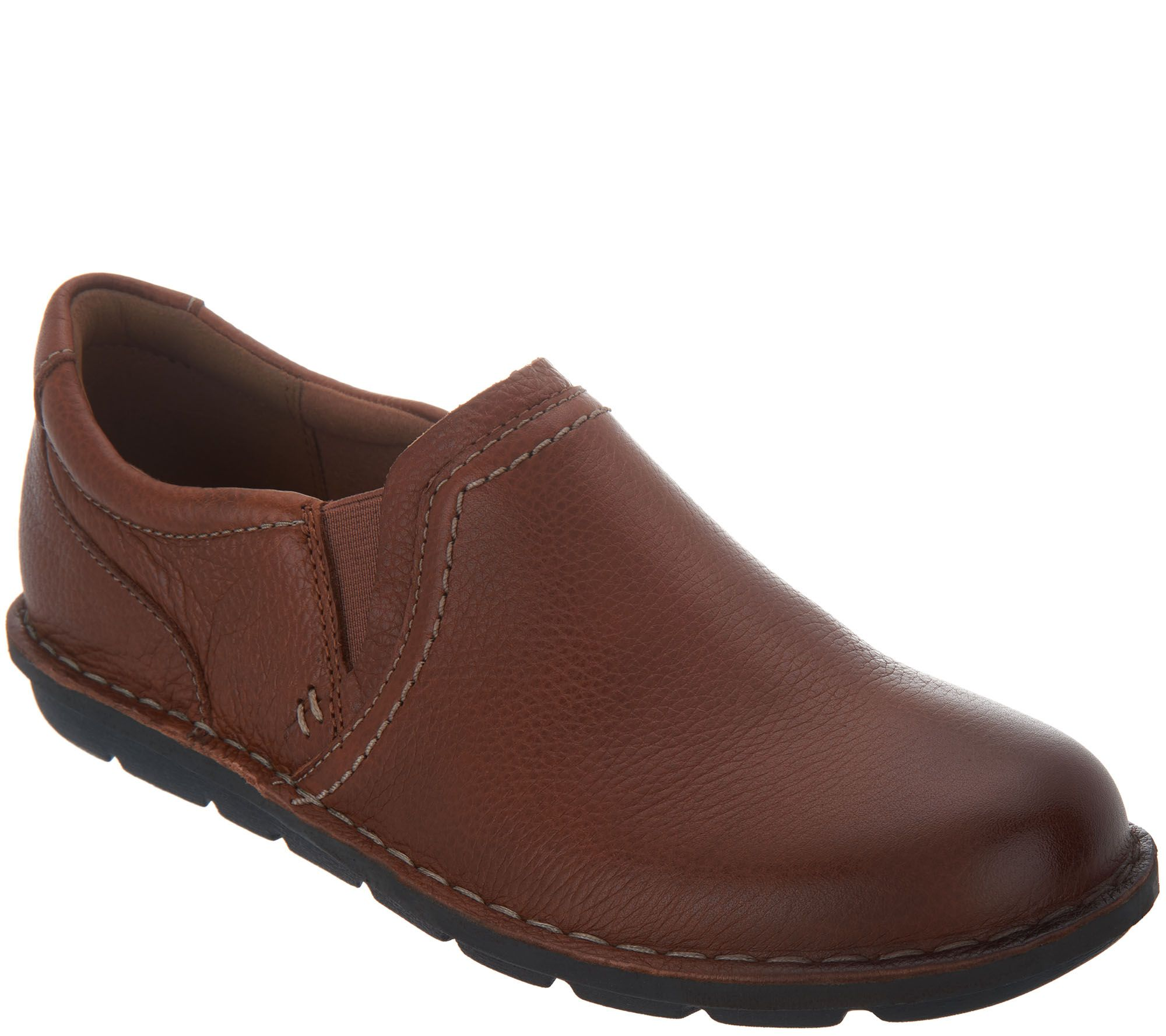 e2aae80ca Clarks Leather Slip-On Shoes - Janice Barrie - Page 1 — QVC.com