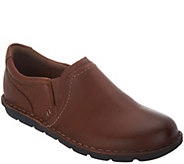 Clarks Leather Slip-On Shoes - Janice Barrie - A341896
