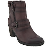Earth Leather Mid-Calf Boots - Montana - A360896