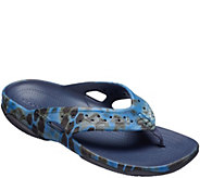 Crocs Mens Sandals - Swiftwater Kryptek Neptune Deck Flip - A412496