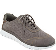 Vionic Leather Lace-up Sneakers - Riley - A298097