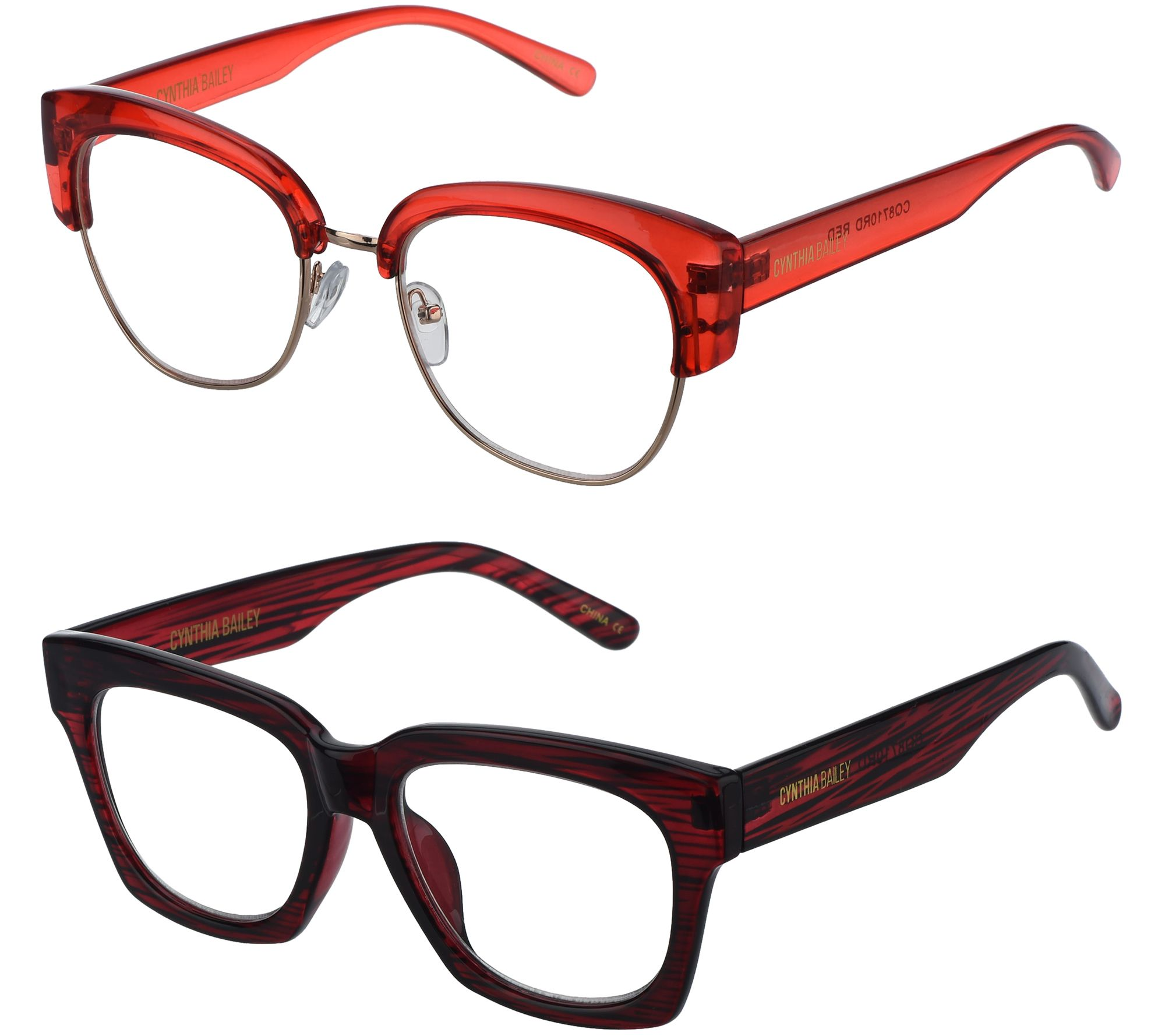 Cynthia Bailey Eyewear S 2 Readers With Case Strength 3 3 5 Page 1