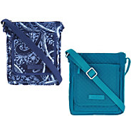 Vera Bradley Iconic RFID Mini Hipster - A304397