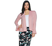 Vince Camuto Bell Sleeve Cut & Sew Cardigan - A306697