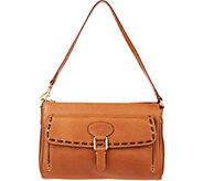 As Is Dooney & Bourke Florentine Medium Pocket Clutch - A307197