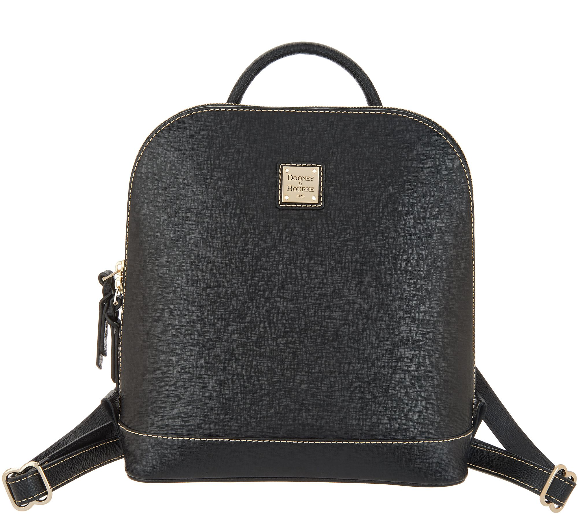 Dooney Bourke Saffiano Leather Pod Backpack Qvc