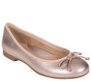 Earth Leather Slip-On Flats - Allegro - A364297