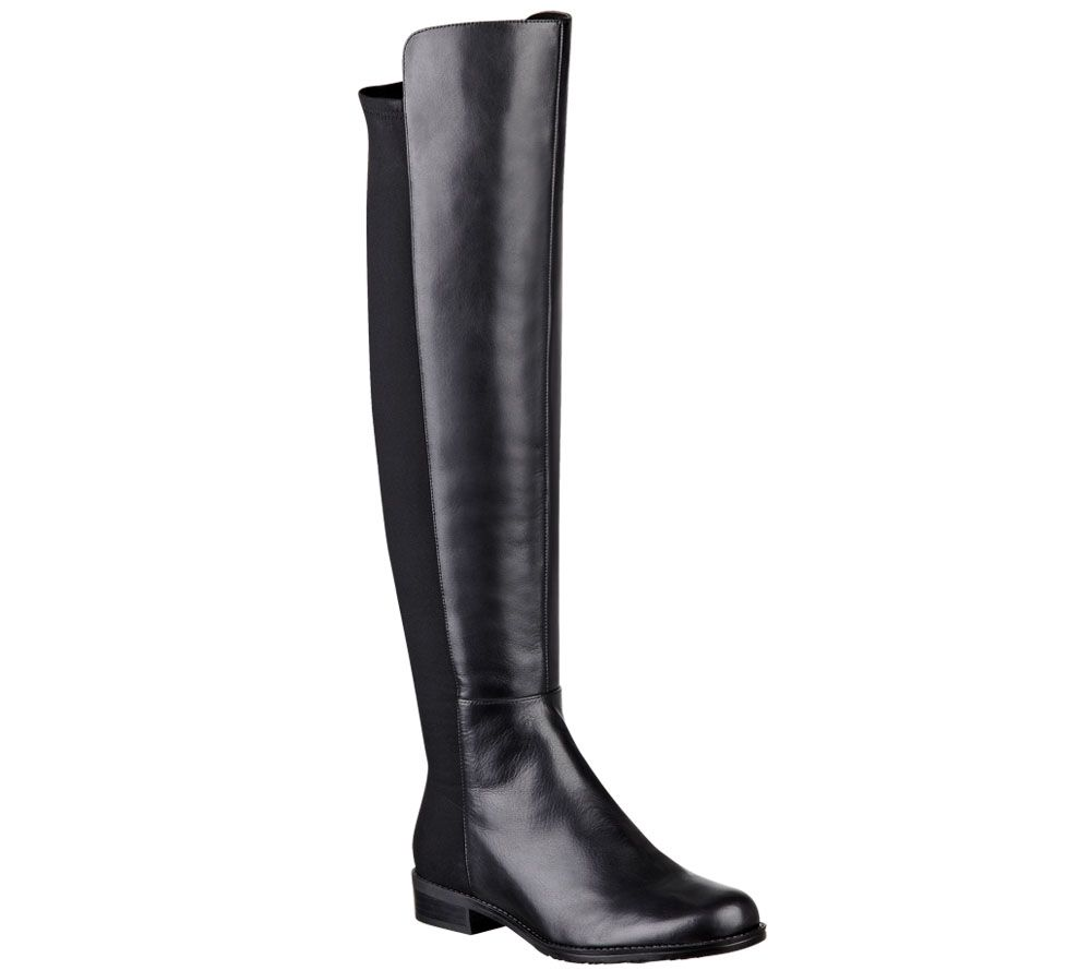 """""""As Is"""" Marc Fisher Leather & Stretch Over- the-Knee Boots ..."""