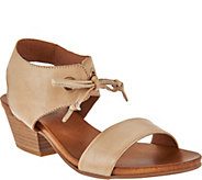 Miz Mooz Leather Sandals with Tie Detail - Vanessa - A290598