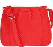 Vera Bradley Microfiber Hadley Crossbody Handbag - A292898