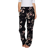 Cuddl Duds Fleecewear Stretch Relaxed Lounge Pants - A293098
