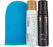MineTan Absolute x20 and Caramel Self-Tan Foam Duo w/ Mitt - A344698