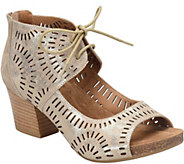 Sofft Leather Ghillie Sandals - Modesto - A360098