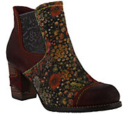 LArtiste by Spring Step Leather Booties - Melvina - A414798