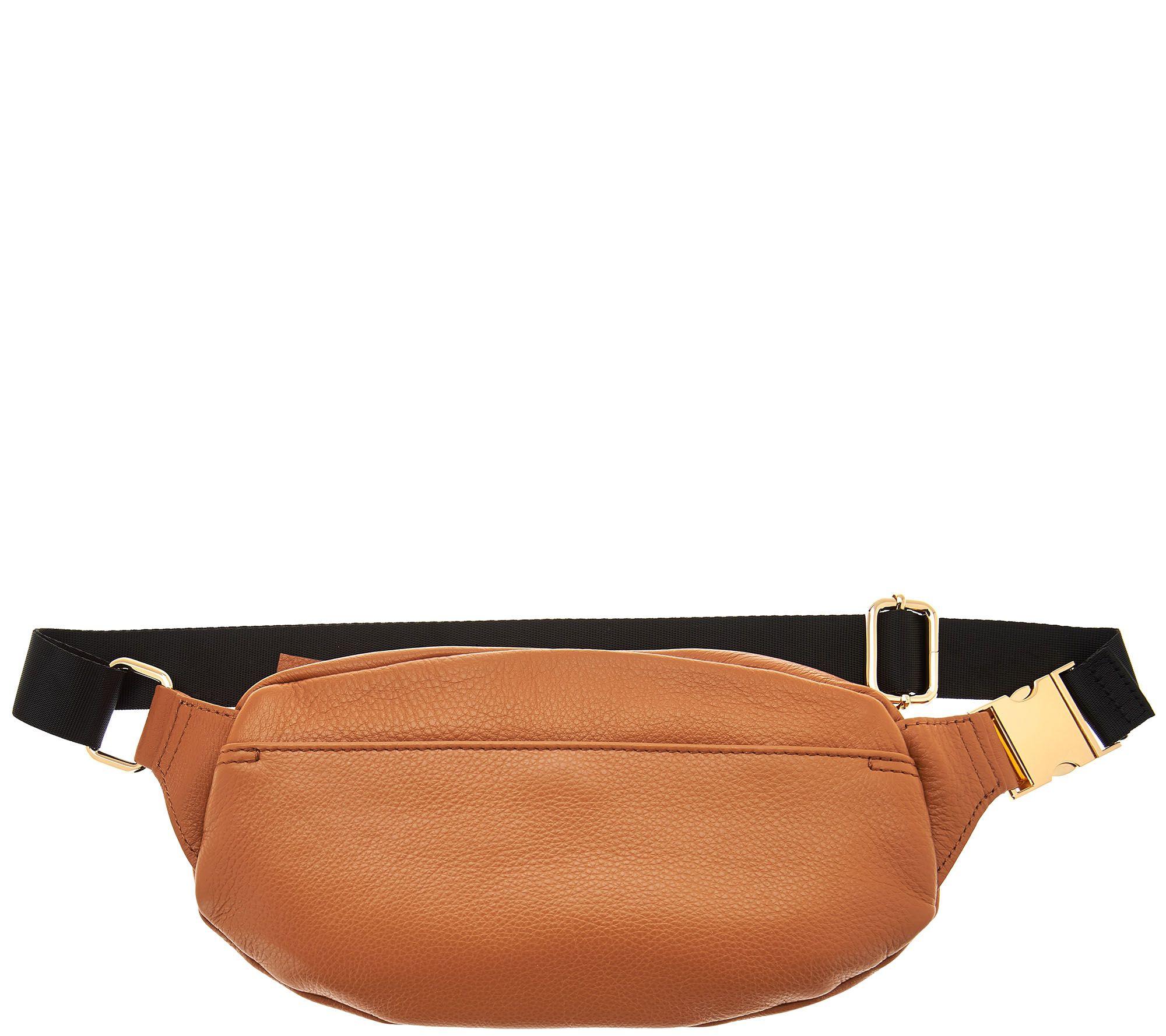 0ba5788353fd Aimee Kestenberg Leather Belt Bag — QVC.com