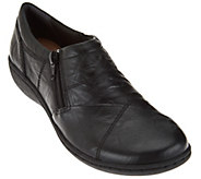Clarks Leather Slip-on Shoes - Fianna Ellie - A283799