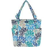 Vera Bradley Signature Print Hadley Shopper Handbag - A292899