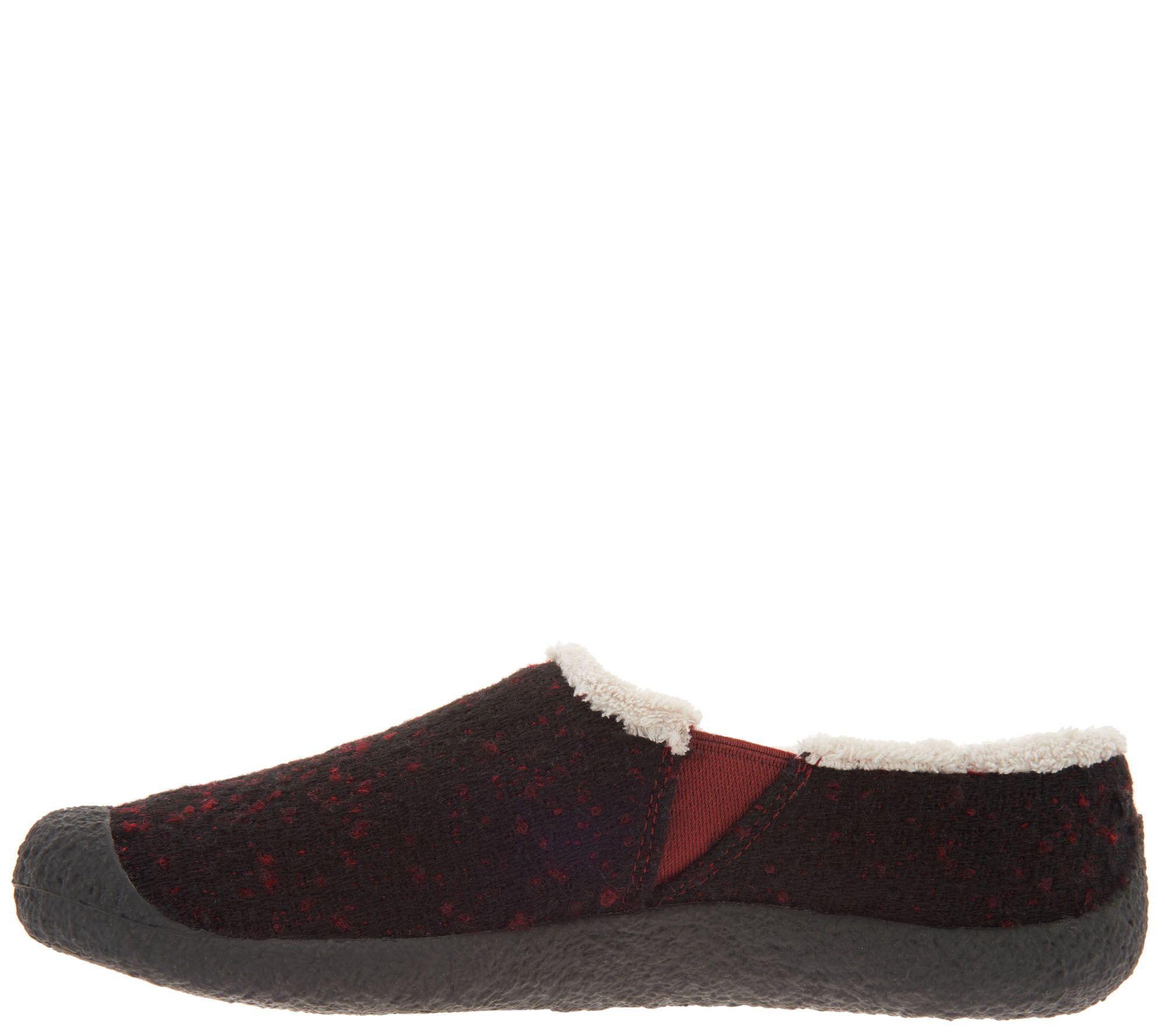 0250b5f807aa KEEN Felt Slip-On Clogs - Howser Slide Wool - Page 1 — QVC.com