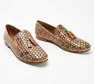 Patricia Nash Perforated Leather Loafers - Francesca - A353599