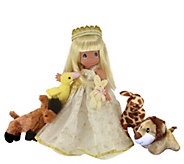 12 Precious Moments A Small Child Shall Lead Them Doll - C214603