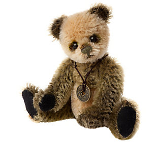 Charlie Bears Collectible Welly Mohair Key Ring/Ornament