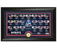 New England Patriots Super Bowl LIII Bronze Coin Panoramic - C215403