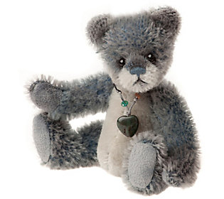 Charlie Bears Collectible Iceskate Mohair Key Ring/Ornament