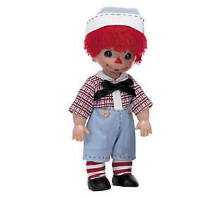 Precious Moment Timeless Traditions Raggedy Andy Doll