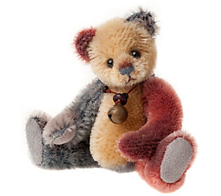 Charlie Bears Collectible Flipflop Mohair Key Ring/Ornament