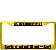 Rico NFL Laser Color Chrome License Plate Frame - C215213