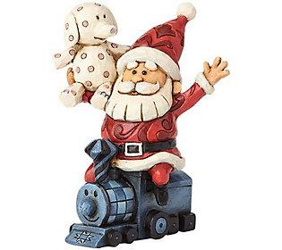 Jim Shore Rudolph Traditions Santa with MisfitsFigurine