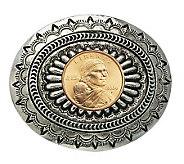 Sacagawea Golden Dollar Belt Buckle - C213717